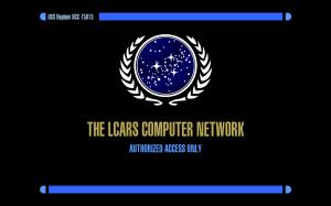 LCARS log in