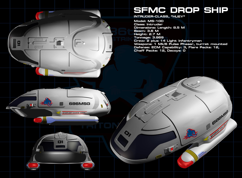 03 NEW - Marine - Dropship