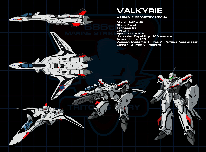 Marine - Valkyrie 01a